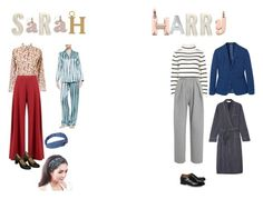 """""""Company - Sarah and Harry"""" by ellen-rogerson ❤ liked on Polyvore featuring art"""