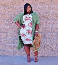 Plus Size Fashion for Women - LACE N LEOPARD: Petal Power