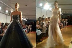 Runway Face-off: Which Ines di Santo style would you wear?