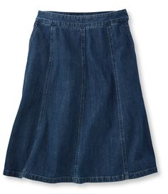 L.L.Bean Gored Skirt