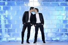 Deniz and Roman Dennis, True Love, My Love, Tv Actors, Gay Couple, Playboy, My Best Friend, Lgbt, Husband