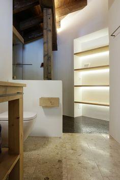 Badezimmer Davos, Alcove, Bathtub, Bathroom, Bathing, Standing Bath, Washroom, Bath Tub, Bathtubs