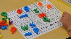 A Place Called Kindergarten: beginning sounds match up