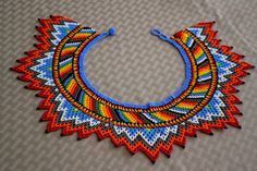 Colombian Glass Bead Necklace (BN542)   Little Colibri