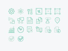UI Iconts by Alex Henry
