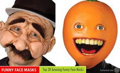 20 Cool and Funny Face Masks from around the world http://funnyneel.com/blog/funny-people-blog   Funny Pictures http://funnyneel.com   Follow us www.pinterest.com/webneel/funny-pictures