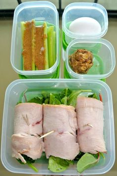Healthy and PALEO Lunches that are so easy. I need this
