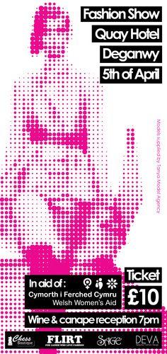 Paris Pink and Black Flyer | Ticket Printing | Paris theme ball ...