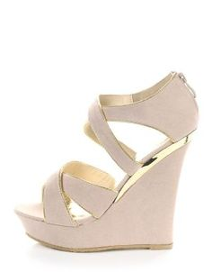 Classy Nude wedges