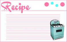 Free Editable Printable Recipe Cards | Recent Photos The Commons Getty Collection Galleries World Map App ...