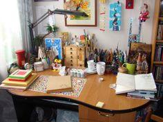 Творческий беспорядок или рабочее место