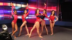 'Fierce Five' Behind The Scenes photoshoot