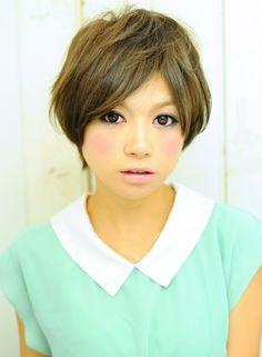 マニッシュガールショート  【little by e'lan】 http://beautynavi.woman.excite.co.jp/salon/24346?pint ≪ #shorthair #shortstyle #hairstyle  #shorthairstyle・ショート・ヘアスタイル・髪形・髪型≫
