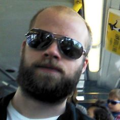 Marc Allen - facial hair.
