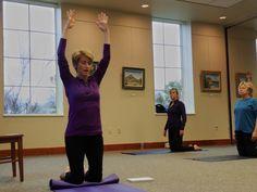Yoga Basics program begins again on Nov 1, 1 p.m., for a six-week session.