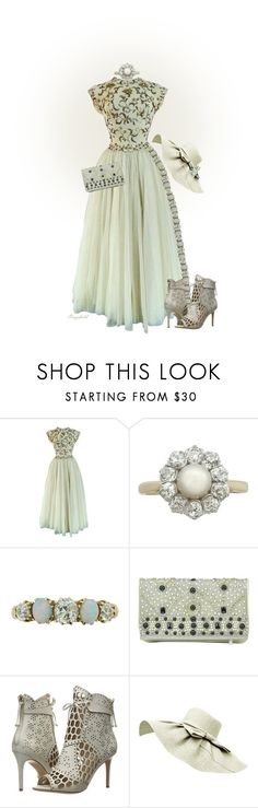 """Pearls & Diamonds"" by ragnh-mjos ❤ liked on Polyvore featuring Jeanne Lanvin, Alice + Olivia and Rachel Zoe"