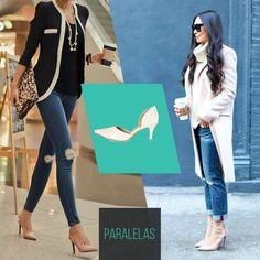 Calça jeans + casaco + scarpin = look perfeito para o inverno!    #love #instagood #happy #beautifuls #girl #smile #fashion #summer #moda #estilo #instamood #instalove #best #sapatos #sapato