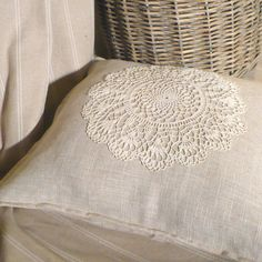 shabby, vintage, pillows,crochet