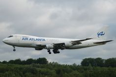 Air Atlanta Cargo Boeing B747-200F, registered TF-ARJ: 2005-06-04, LUX - Luxembourg International Airport