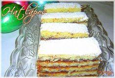 Hatlapos, ahogy a nagyi készíti Vanilla Cake, Food And Drink, Sweets, Cookies, Baking, Recipes, Crack Crackers, Gummi Candy, Candy