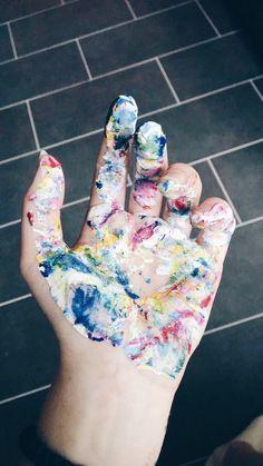 Paint oil acryl colors