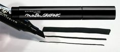 Is this an eyeliner or a highlighter? It is an eyeliner - indeed! We have the new Master Graphic Liner from Maybelline New York tested!