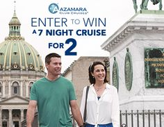 Click to enter to win an Azamara Cruise!!