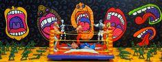 Honys Torres Artista Neo POP: En el Ring