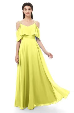82def1f48034 10 Best pale yellow bridesmaid dresses images | Yellow dress, Pale ...