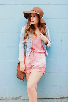 Tie Dye Romper - With Love, Meg Overall Shorts, Overalls, Tie Dye, Hipster, Rompers, My Style, Tops, Fashion, Moda