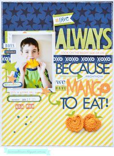*Bella Blvd* Mango to Eat - Scrapbook.com