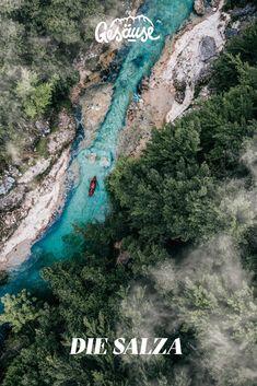 Die #Salza.  #österreich #steiermark# #gesäuse #gibtkraft Foto: Stefan Leitner River, Outdoor, Pictures, Water Sports, Ski, Round Round, Landscape, Nature, Outdoors