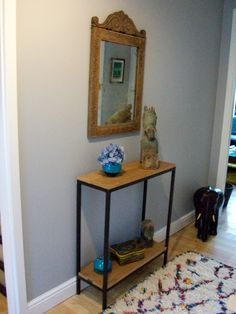 Narrow Console Table Hallway httpbenchforuminfo Pinterest