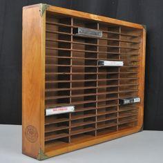 Napa Valley Box Wooden Vtg Cassette Tape 64 Slot Storage Shelf Corner  Protectors #NapaValleyBoxCompany