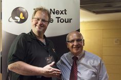 Welcome at the Next Wave Tour by Doriano Guerrieri (Pico Group, right) and Jeroen Sonnemans (WoodWing, left)