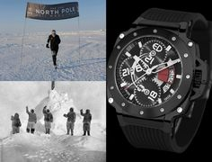 Event in North Pole With Pole Guardian Men Watches By #Edmond_Watches.