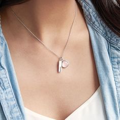 'Love' Charity Charm Necklace   Chloe + Isabel