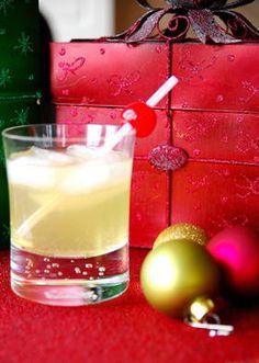 Seasonal Sparkler holiday mocktail