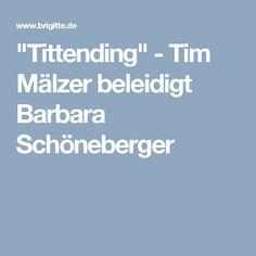"""""""Tittending"""" - Tim Mälzer beleidigt Barbara Schöneberger"""