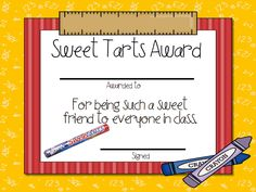 Candy Award Certificates  Editable Ms Word And Pdf  Candy Awards