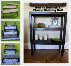 8 best plastic shelves images on pinterest plastic shelves rh pinterest com