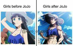 A community for posting anime memes! Anime Meme, Otaku Meme, Manga Anime, Jojo's Bizarre Adventure, Jojo Bizarre, Jojo Anime, Accel World, Jojo Memes, Funny Relatable Memes