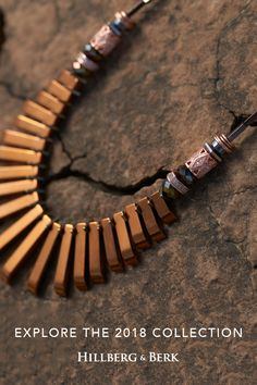 Inspired by the unique Canadian landscape of the Badlands, we are proud to bring you the first palette of our 2018 Collection. The jewellery that makes up the Autumn palette embraces rich tones and rugged textures, evoking a sense of warmth and natural wonder. Explore the collection at hillbergandberk.com