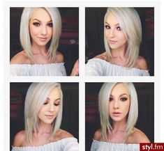 Angled Long Bob Haircut hair hair ideas hairstyles medium hairstyles hairstyles for medium length hair