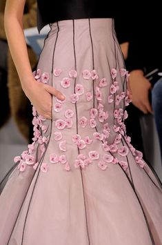 Christian Dior Spring 2013 Couture Details