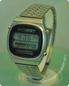CITIZEN - 41-0535 - Digital - Vintage Digital Watch - Digital-Watch.com