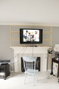 Hiding TV cables | Decorating | Pinterest | Tv cable, Cable and TVs
