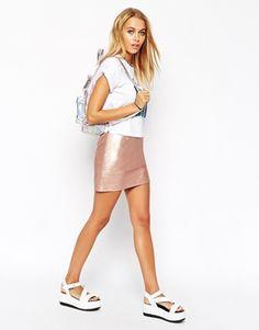 Pretty shiny skirt! http://asos.do/dLyKzV