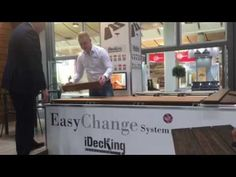 removable decking system called EasyChange by iDecking Revolution - discover more on www.idecksystems.com
