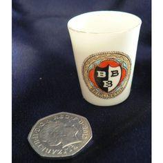 Goss Crested China Miniature Cup Rd 77966 - Bridlington Crest